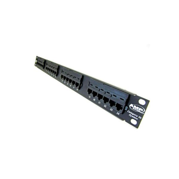 پچ پنل شبکه cat6 amp محصول شرکت امپ