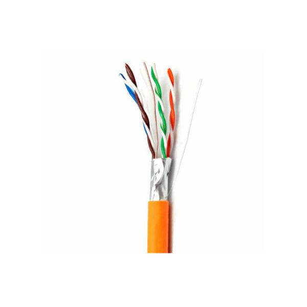 کابل شبکه cat6 FTP نگزنس دارای تست فلوک
