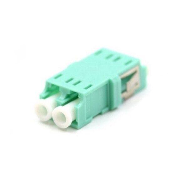 آداپتور فیبر نوری om3 duplex LC multi mode