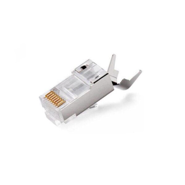 سوکت شبکه cat6 SFTP شانه دار