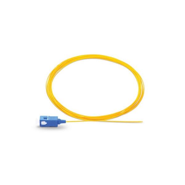پیگتل ۱/۵ متری single mode simplex Om2 sc